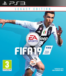 PS3 - FIFA 19 - Legacy Edition
