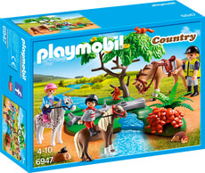 PLAYMOBIL Country Joyeuse promenade à cheval 6947