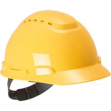 Casque de sécurité jaune