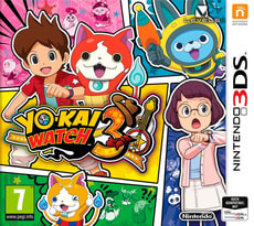 3DS - Yo-Kai Watch 3 (D)