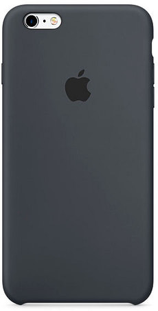 Silicone Case iPhone 6/6s Plus grau
