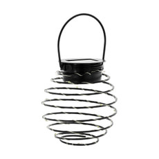 LED Solarlampe Spirale