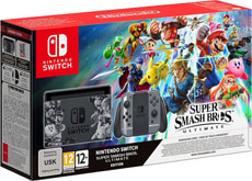 Switch Bundle Super Smash Bros. Ultimate Edition