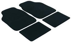 Autoteppich Velours schwarz