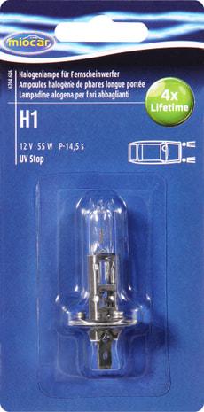 Ampoule halogène H1 Longlife