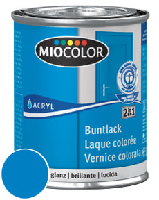 Acryl Buntlack glanz Himmelblau 750 ml