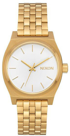 Medium Time Teller All Gold White 31 mm