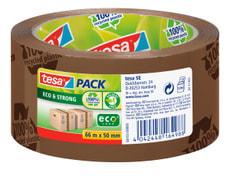 tesapack® eco & strong printed 66m:50mm brun