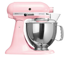 Artisan KSM 150 Küchenmaschine Jubiläums Set rosa