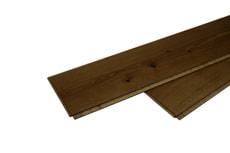 Pavimento in legno 1-strato rovere vintage vernice opaco cenere