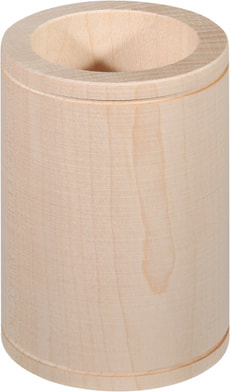 Holzbecher 70mm Ahorn