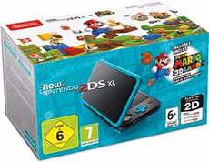 New 2DS XL + Super Mario 3D Land