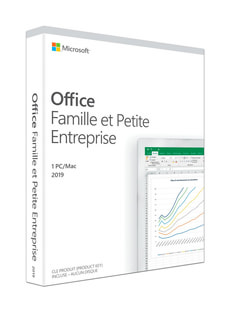 Office Famille et Petite Entreprise 2019 PC/Mac (F)