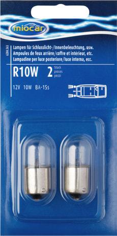 Ampoulen R10W, feu d'arrière/intérieur