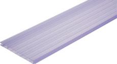 PVC-Doppelwandelemente mit Nut und Kamm