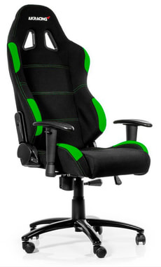 AKRacing K7012 Gaming Chair nero/verde