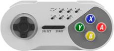 SNES Controllore - Senza fili - Grigio