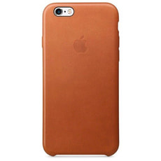 Leder Case iPhone 6s Sattelbraun