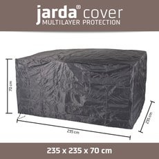 Housse de protection quadratique 235x235x70