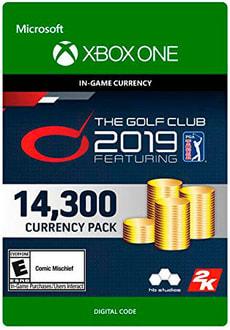 Xbox One - The Golf Club 2019 feat PGA Tour - 14300C