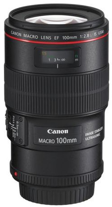 EF 100mm f/2.8L Macro IS USM Objektiv