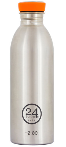 Borraccia, 500 ml, steel
