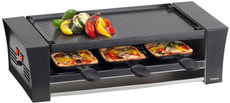 Pizza-Grill Raclette 6 Personen