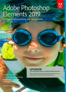 PC/Mac - Photoshop Elements 2019 Upgrade (D)