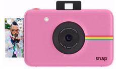 SNAP appareil photo instantané rose