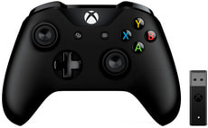Manette Xbox + adapteur sans fil pour Windows 10