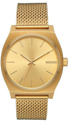 Time Teller Milanese All Gold 37 mm