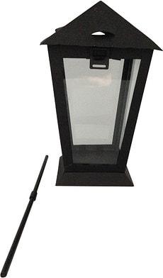 Lanterne funéraire avec bâton 25 cm