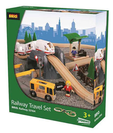 W12 BRIO RAILWAY TRAVEL SET