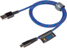 Solid Blue USB Cable CS010