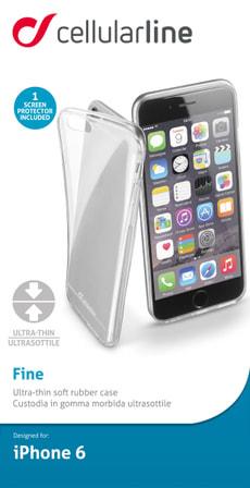 Ultradünne Schutzhülle aus weichen Gummi für iPhone 6