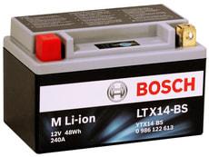 Motorradbatterie Li-ion 48 Wh LTX14-BS