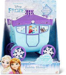 Frozen machine bulle de savon en forme carrosse