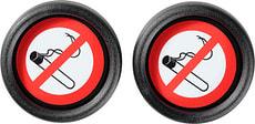 """Hinweisschild """"NO SMOKING"""" 2 Stück"""