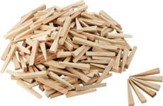 Cales en bois pour carrelage