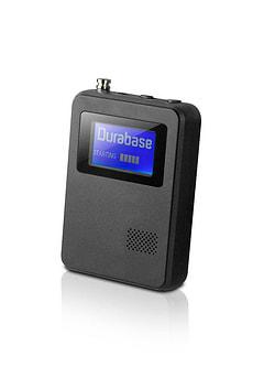 Pocket DAB radio portable