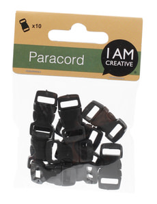 Clips small black 10 pcs.