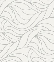 Feuilles adhérentes de fenêtre statiques Antwerben blanc