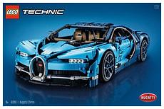 W18 LEGO TECHNIC 42083 BUGATTI CHIRON