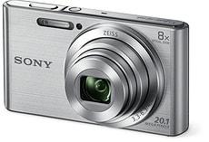 Cybershot DSC W830 Kompaktkamera pink