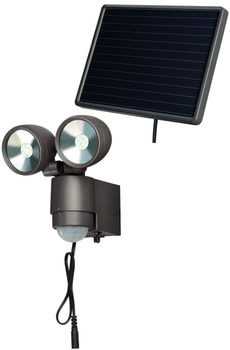 Spot solaire anthracite à LED SOL 2x4 IP 44