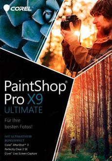 PC- PaintShop X9 Ultimate (D)
