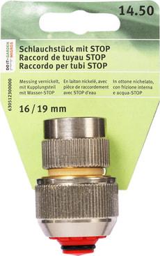 Schlauchstück mit STOP, 16/19mm