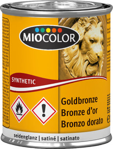 MC Lack seidenglanz Goldbronze 125 ml
