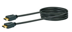 Cable HDMI Highspeed 1.5m noir