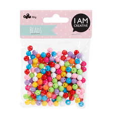 KIDS BEADS MIX JAUNE